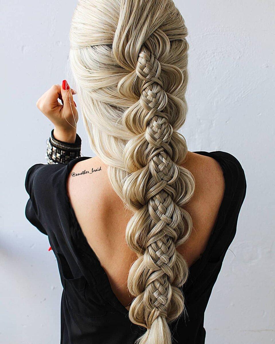 Девушка превратила плетение кос в искусство: 9 работ, после которых мне захотелось отрастить длинные волосы волосы,красота,прически