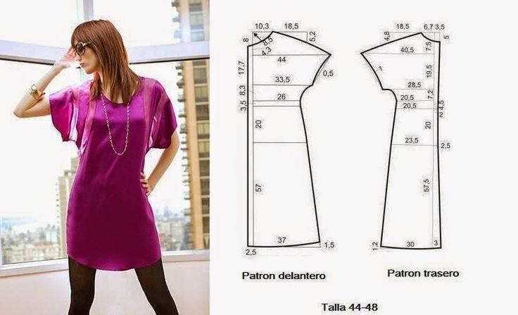 Moda у Costura Consejos: Платье PARA Hacer FACIL - 1