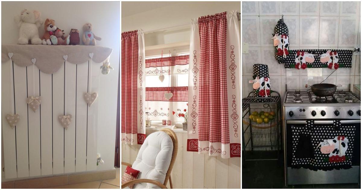 Текстильные декор для дома из остатков ткани. Нежно и уютно