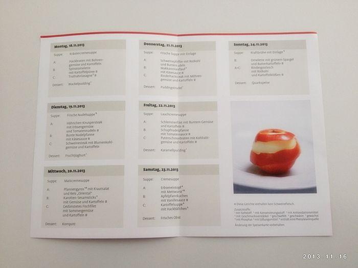 Недельное меню при лечебной диете 5