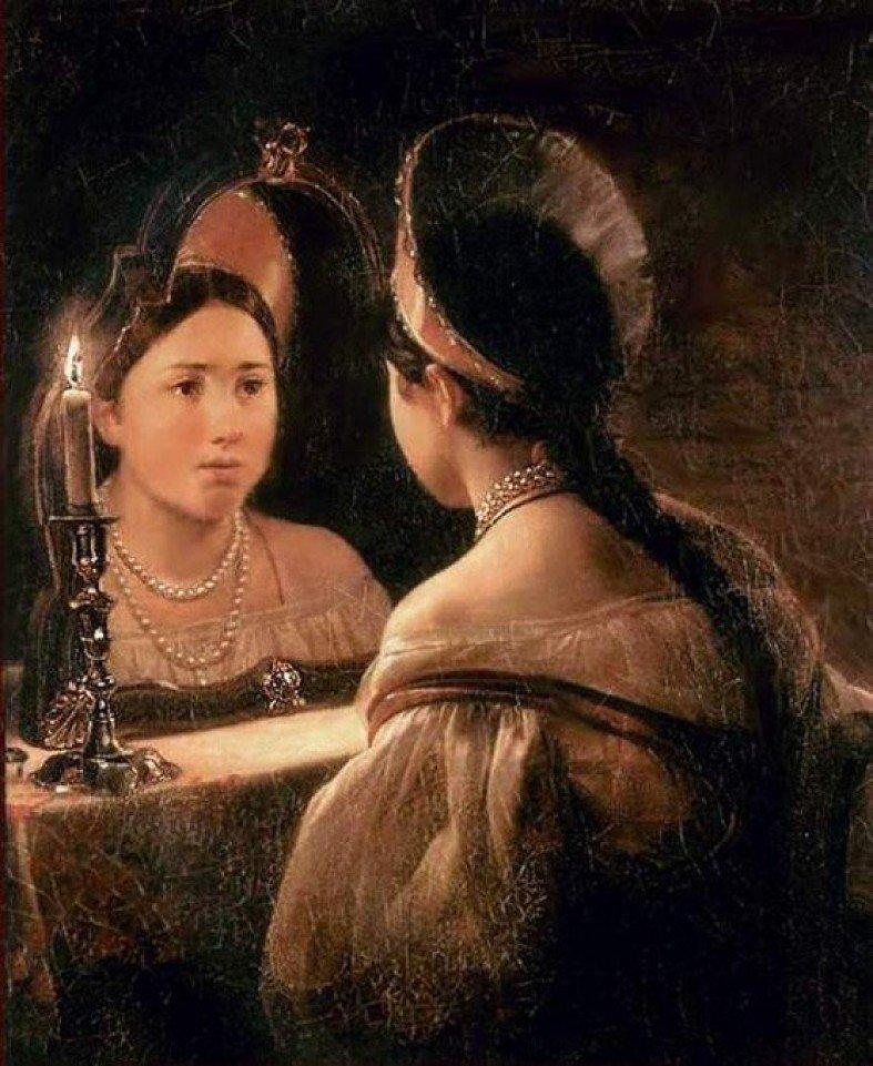 Почему на Руси боялись зеркал Русы, зеркала, злые силы, обряды, приметы, русалки, суеверия