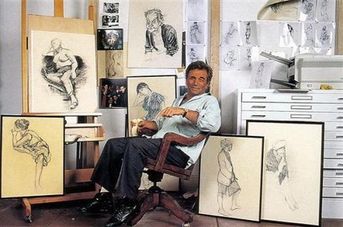 Фальк и его картины