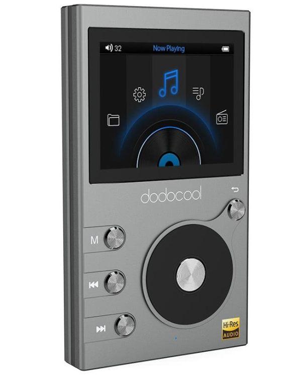 Cafago представляет: компактный Hi-Fi плеер Dodocool 8GB Hi-Res Lossless