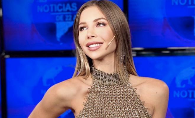Аргентинская телеведущая