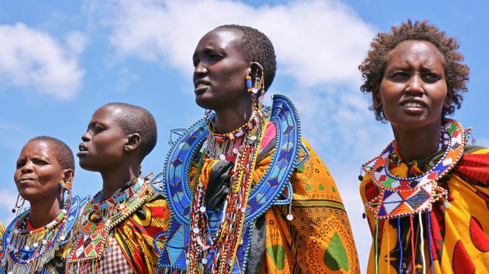 Красота по-африкански. Лучшие образцы племенной моды