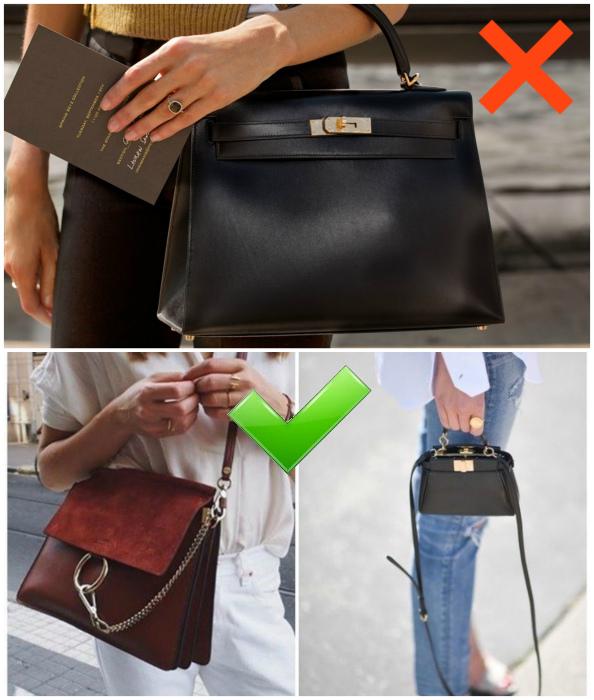 Практичная черная сумка и другие варианты. | Фото: Тироз.