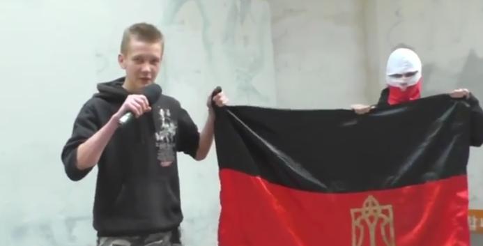 Поляки надругались над флагом «Правого сектора»