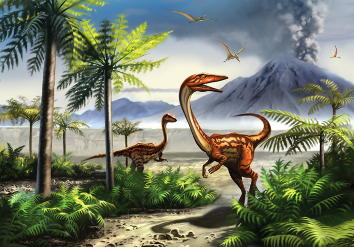 Возможно, динозавров Антарктиды уничтожило очередное извержение.
