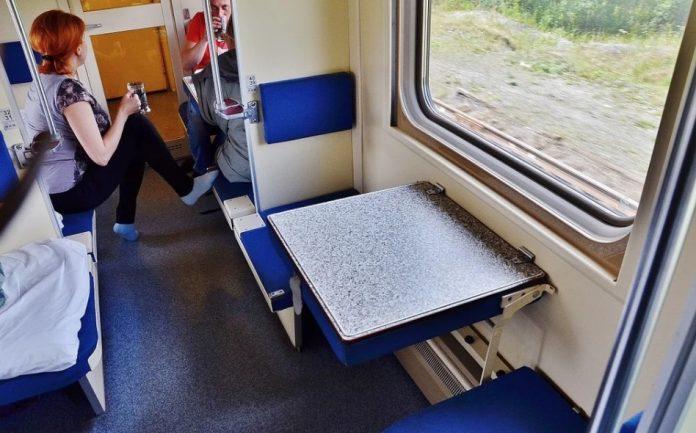 Может ли пассажир поезда сни…