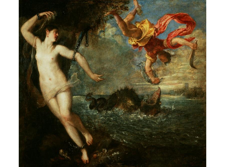 Персей и Андромеда. Тициан, середина XVI века.