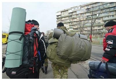 Украинцы прячутся от могилиз…