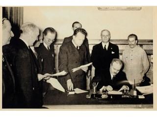 Цитата дня. Зачем был подписан советско-германский Договор о ненападении. Смысл история
