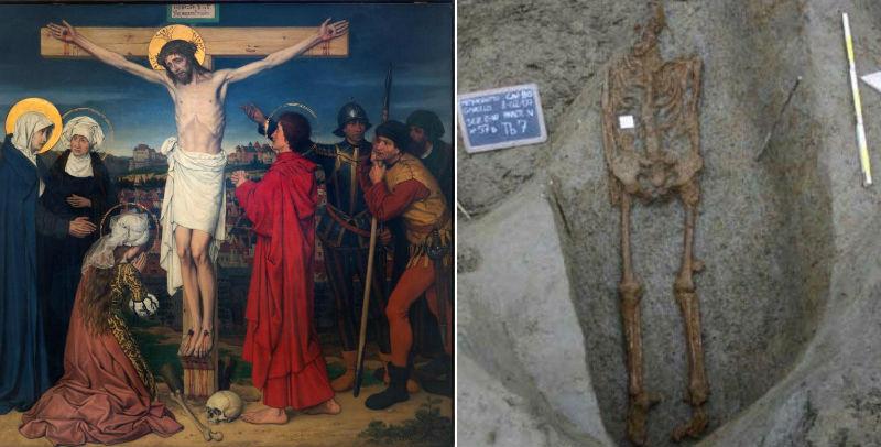 Умер как Иисус Христос: итальянские ученые обнаружили скелет распятого человека