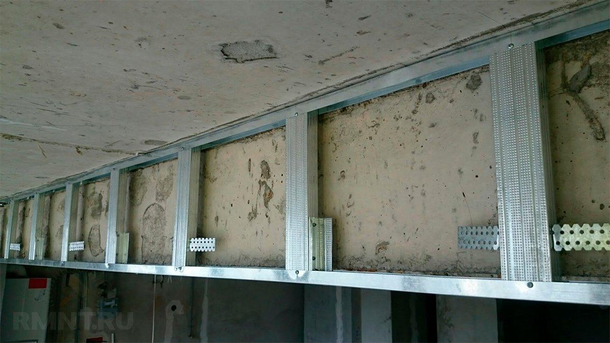 Потолки гкл балки и ригеля фото