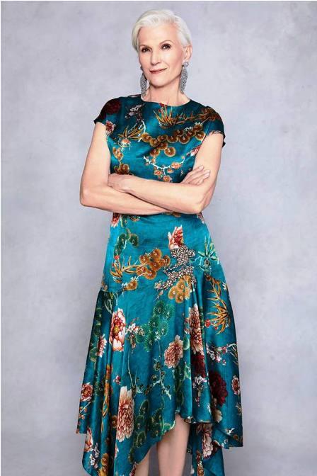 Лукбук бренда Sachin & Babi зима 2018 — в качестве модели 69-летняя модель. И она прекрасна!