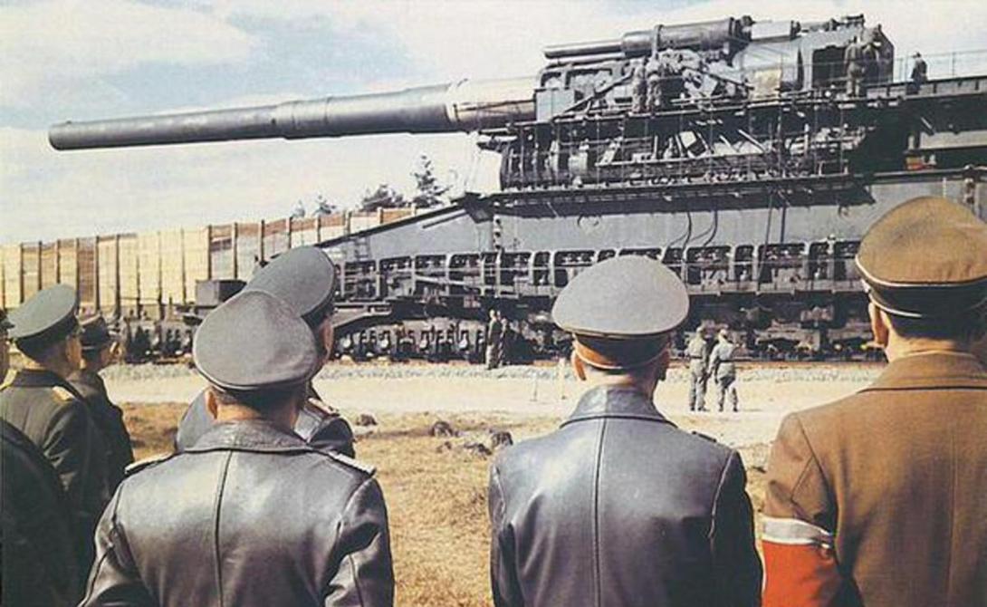 Самые большие пушки в истории