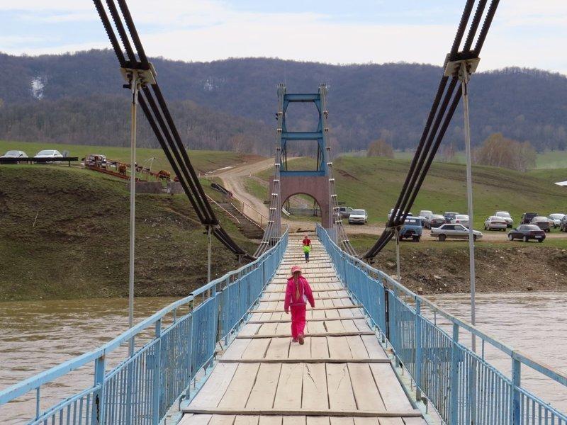 Что нам стоит мост подвесить: висячие мосты России и СНГ висячий мост, мост, подвесной мост, река, эстетика