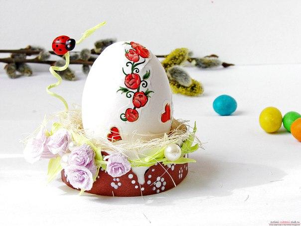 Подставки для пасхальных яиц своими руками