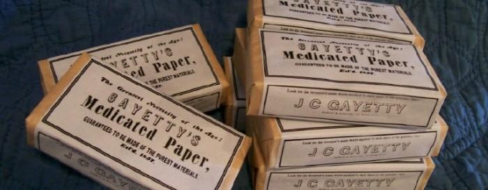 Бумага Гайетти./Фото: plantaben.es