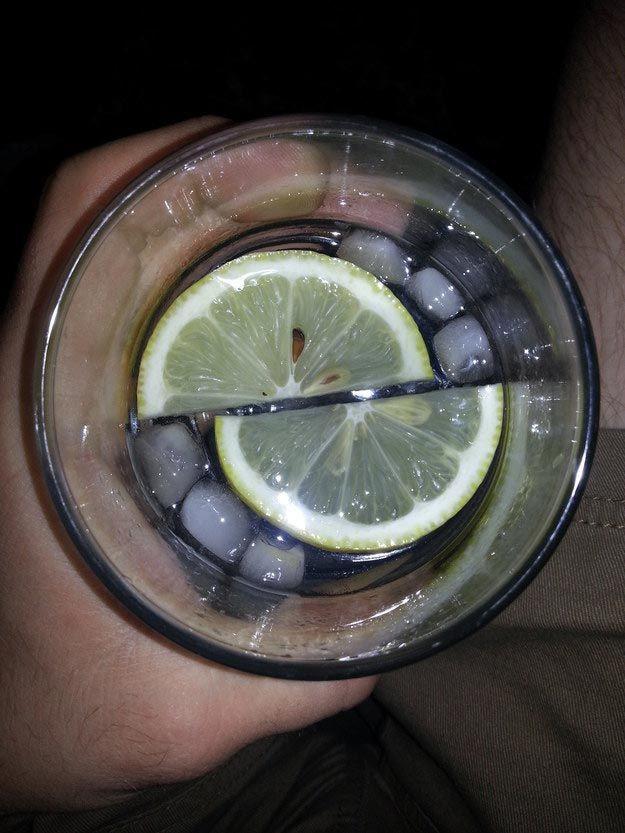 9. Эти симметричные дольки лимона вещи, идеально, перфекционист