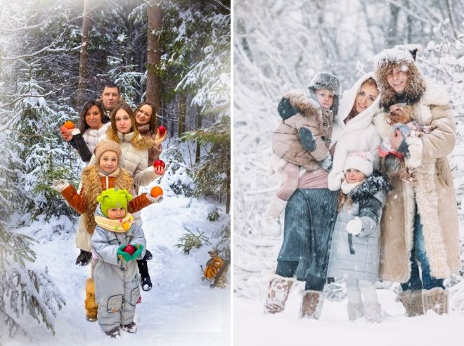 Фотосессии в зимнем лесу как одеваются девушки для работы в офисе