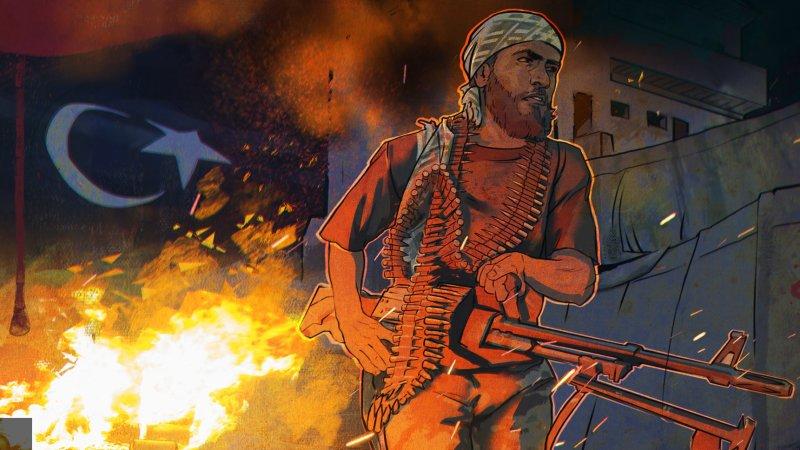 Саррадж грабит ливийский народ, чтобы платить боевикам зарплату