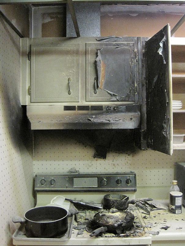 Кухонные неудачи в фотографиях