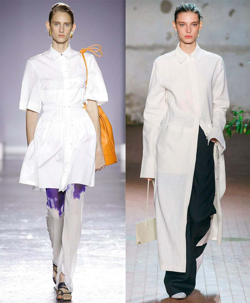Платье-рубашка: с чем носить и как выбрать