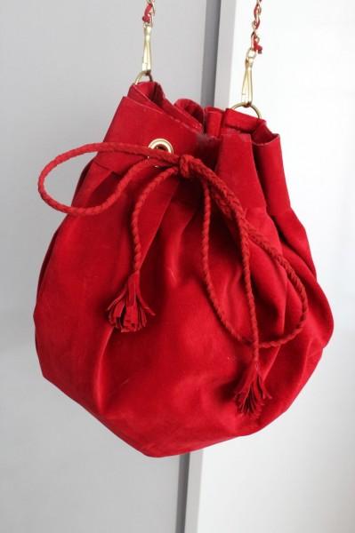 Очаровательная сумка-мешок. МК