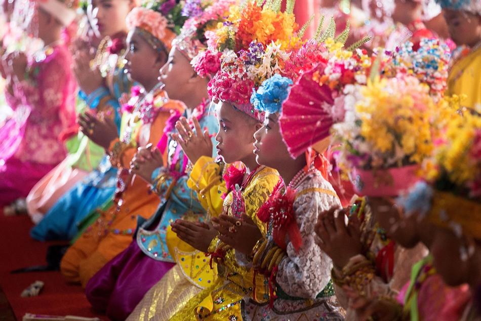 Фестиваль драгоценных сыновей у народа Тай Яй