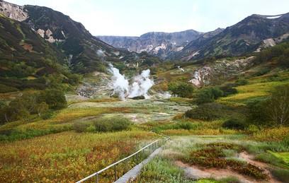 Долина гейзеров на Камчатке готова к приему туристов