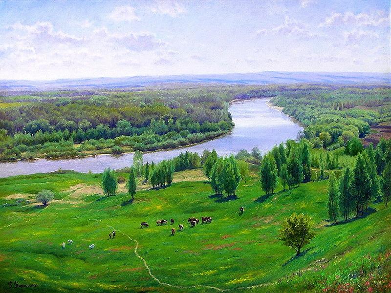 Художник Геннадий Кириченко