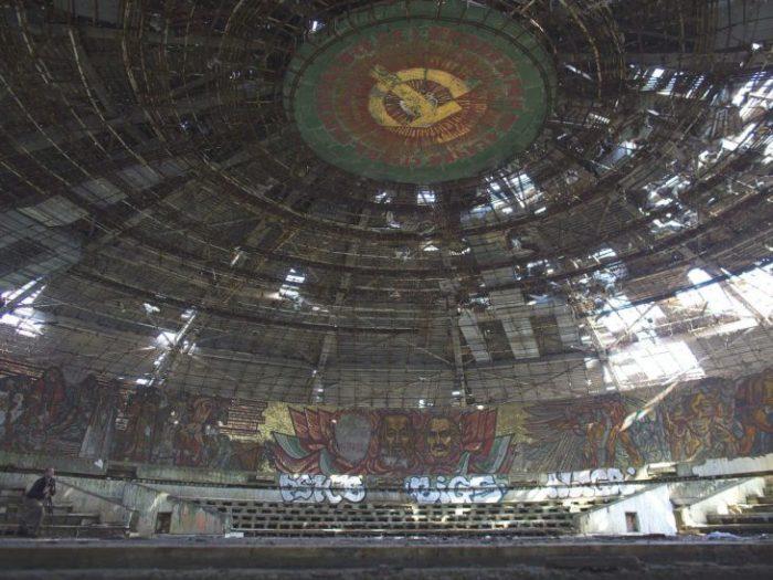 Очень странная была арена.