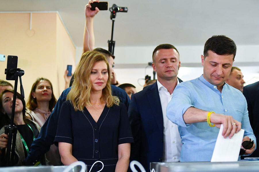 Как голосует Украина?