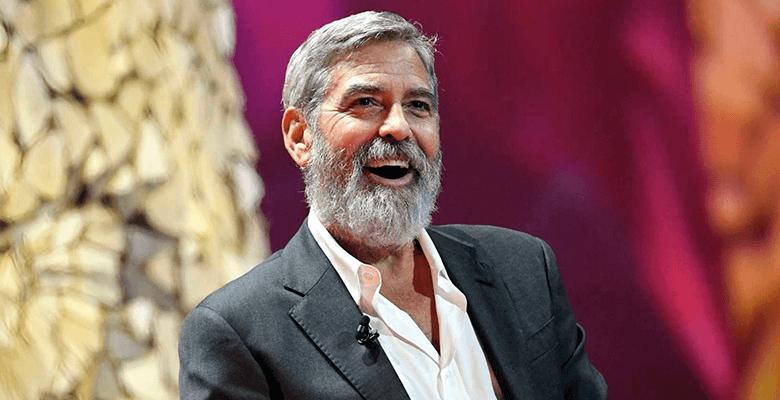 Амаль Клуни ненавидит бороду…