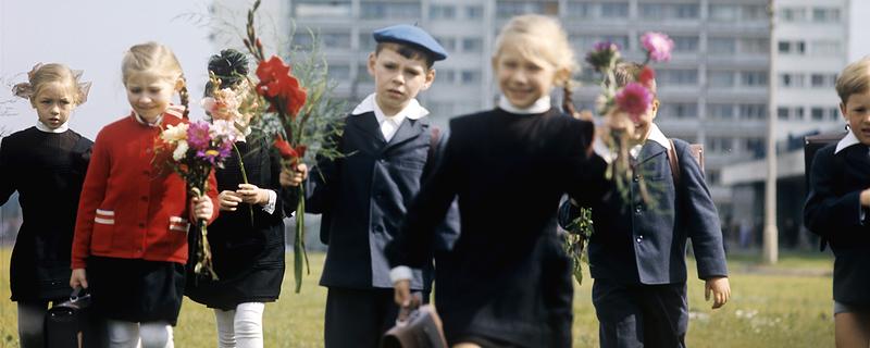 В школу. 1970-е: СССР в фото, подборка