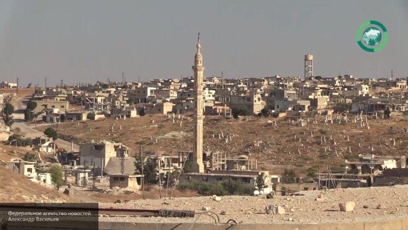 ФАН опубликовал видео из освобожденных районов на юге Идлибской зоны деэскалации