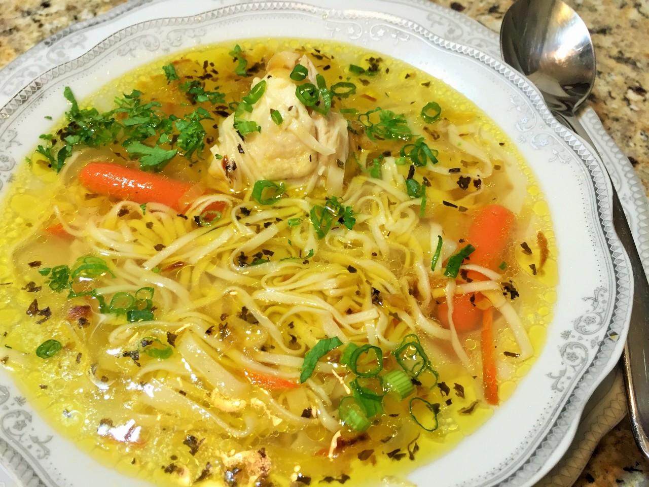 Суп с лапшой (Кулинарные рассказы от Марата Баскина)