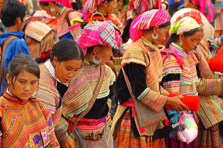 Местные жители Вьетнама
