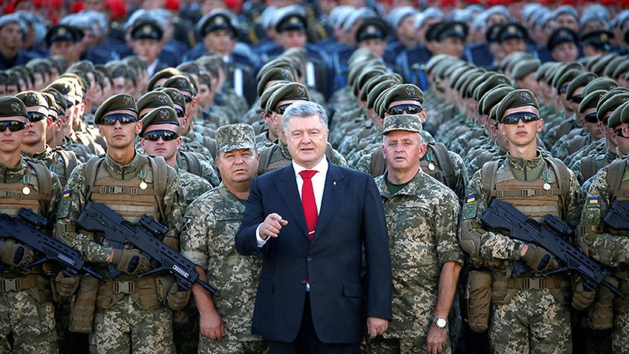 Украина парадным шагом движется в небытие