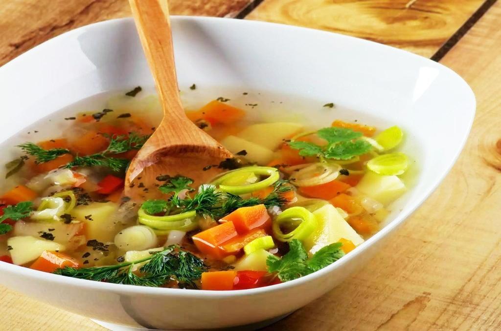 Легкий суп диета