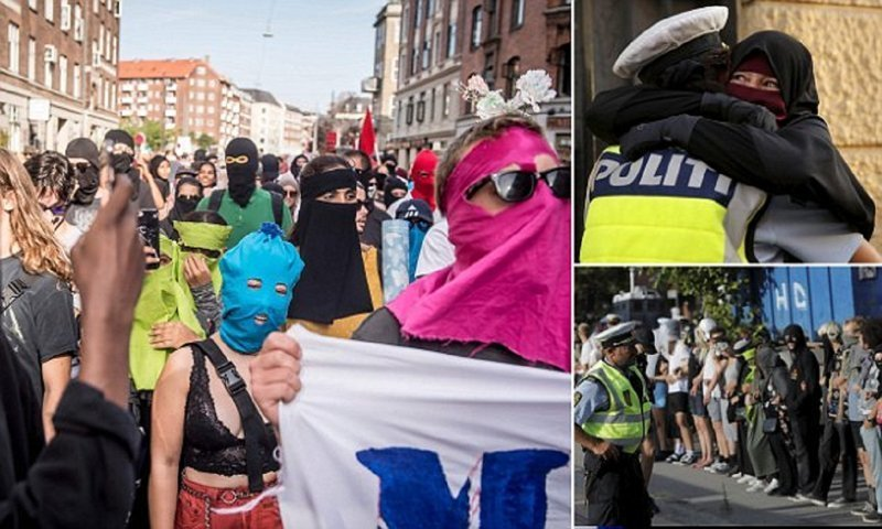 В Дании разгорается борьба за паранджу