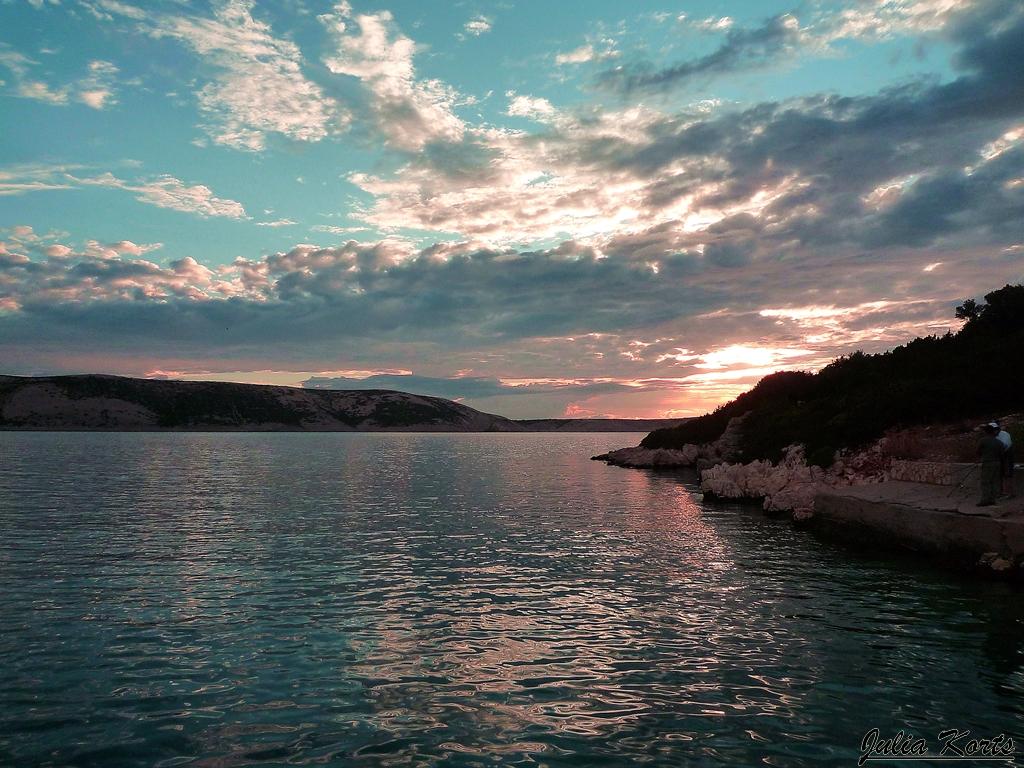 Закаты на острове Паг