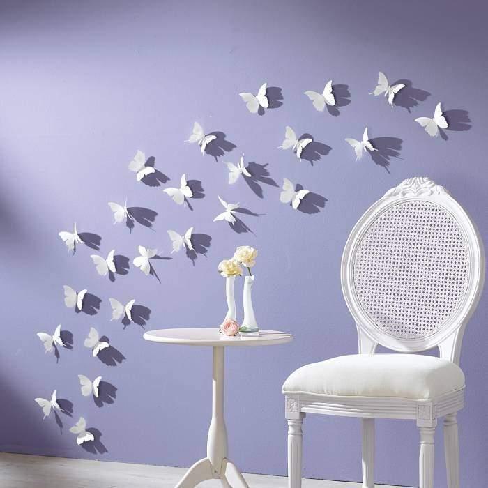 Декор стен своими руками из подручных материалов - бабочки из бумаги