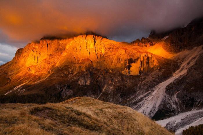 Осенние Доломитовые Альпы: вся красота осенних гор!