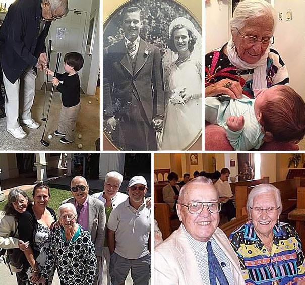 Прожив 75 лет в браке, эта пара покинула мир в объятиях друг друга (7 фото)