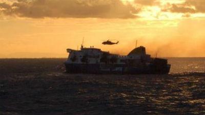 Эвакуированы все пассажиры парома Norman Atlantic