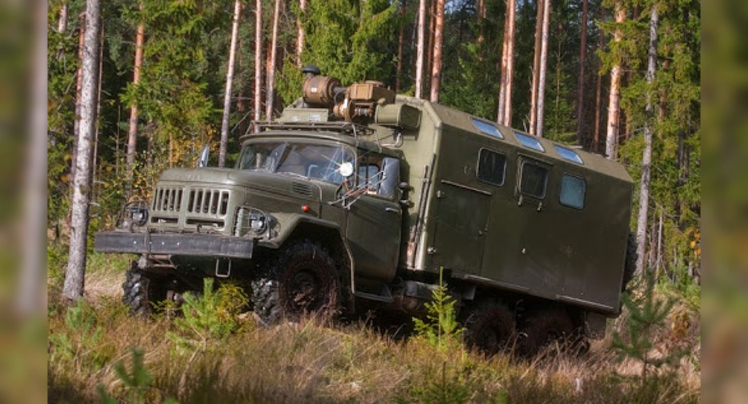 ЗиЛ-131 прошел тест-драйв по бездорожью Автомобили