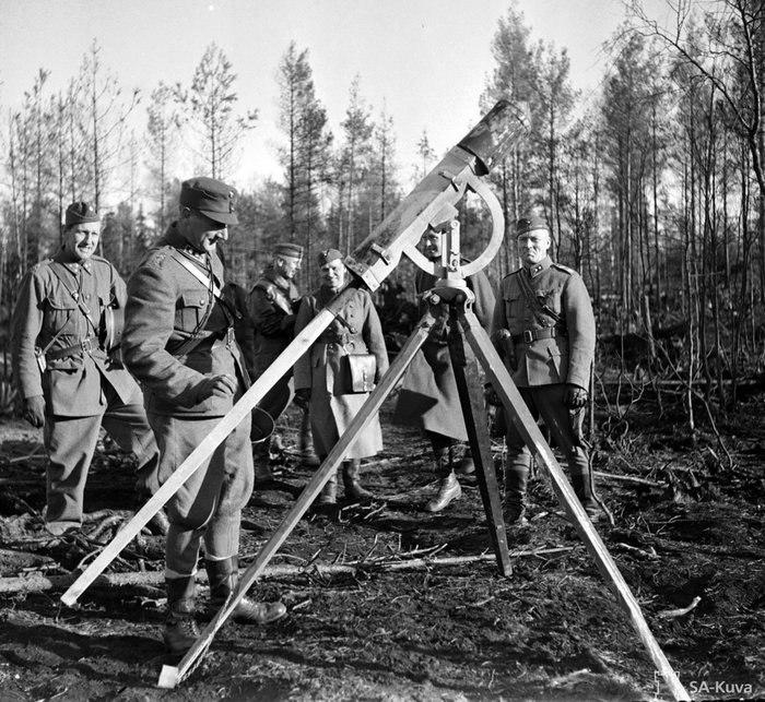 Финская армия использовала ракеты Константинова даже в XX веке./Фото: nornegest.livejournal.com