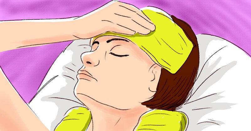 От головной боли меня спасае…